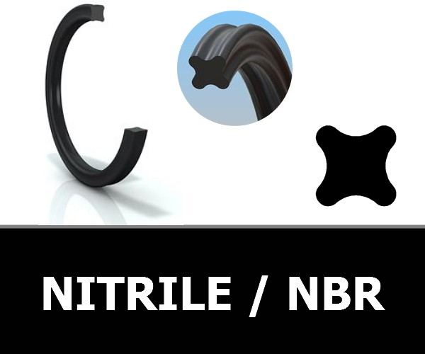 JOINTS QUATRE LOBES NBR / NITRILE
