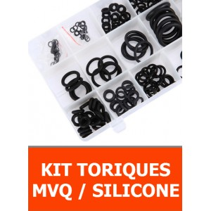 KIT JOINTS TORIQUES SILICONE / MVQ