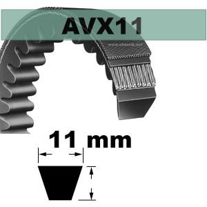 COURROIE AVX11x528 mm La/Le