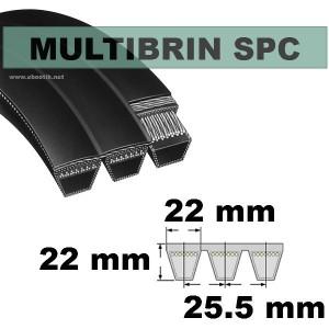 Courroie SPC2650x1 Brin