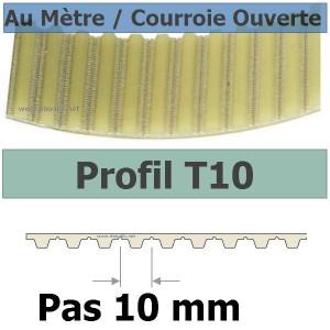 Courroie Crantée 1960T10/20 mm PU Acier OUVERTE